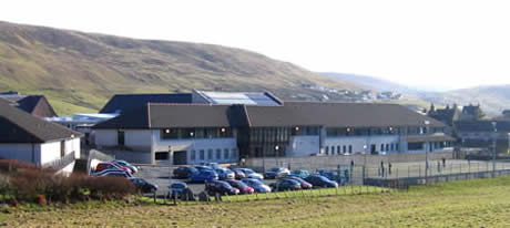 View of Scalloway School